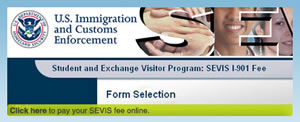 SEVIS payment